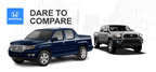 When compared to the 2014 Toyota Tacoma, the 2014 Honda Ridgeline is much more versatile, making it a stronger competitor in the pickup segment.  (PRNewsFoto/Benson Honda)