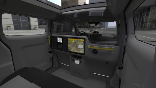 Nissan Offers New York City A Peek Inside Its New Taxi; Design Expo Offers First Look at Interior