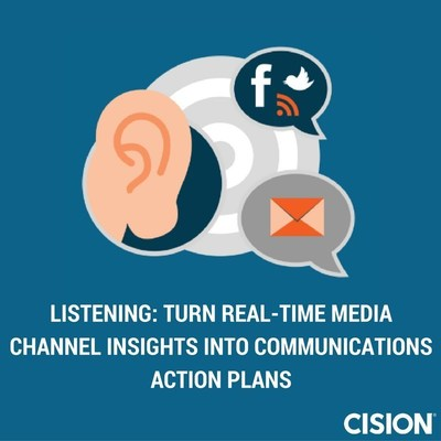 Cision White Paper Emphasizes Listening as Key Component to Developing Insightful Communications Action Plans