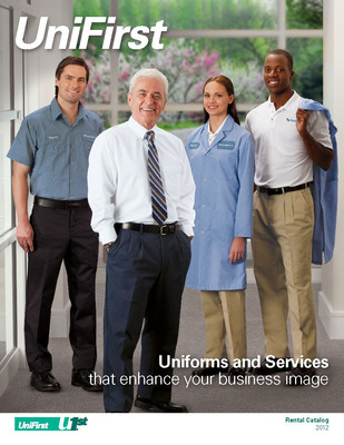 NEW UNIFIRST CATALOGS - UniFirst has two new catalogs for 2012 that feature a wide selection of industrial, casual, and contemporary work shirts; complementary pants and shorts; and outerwear such as jackets, sweatshirts, coveralls and caps.  (PRNewsFoto/UniFirst Corporation)
