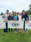 A team of Bankers Healthcare Group employees participated in A Run for Their Life on October 3, 2015 at the Camillus Veterans Memorial Park to benefit the Carol M. Baldwin Breast Cancer Research Fund of Central New York.