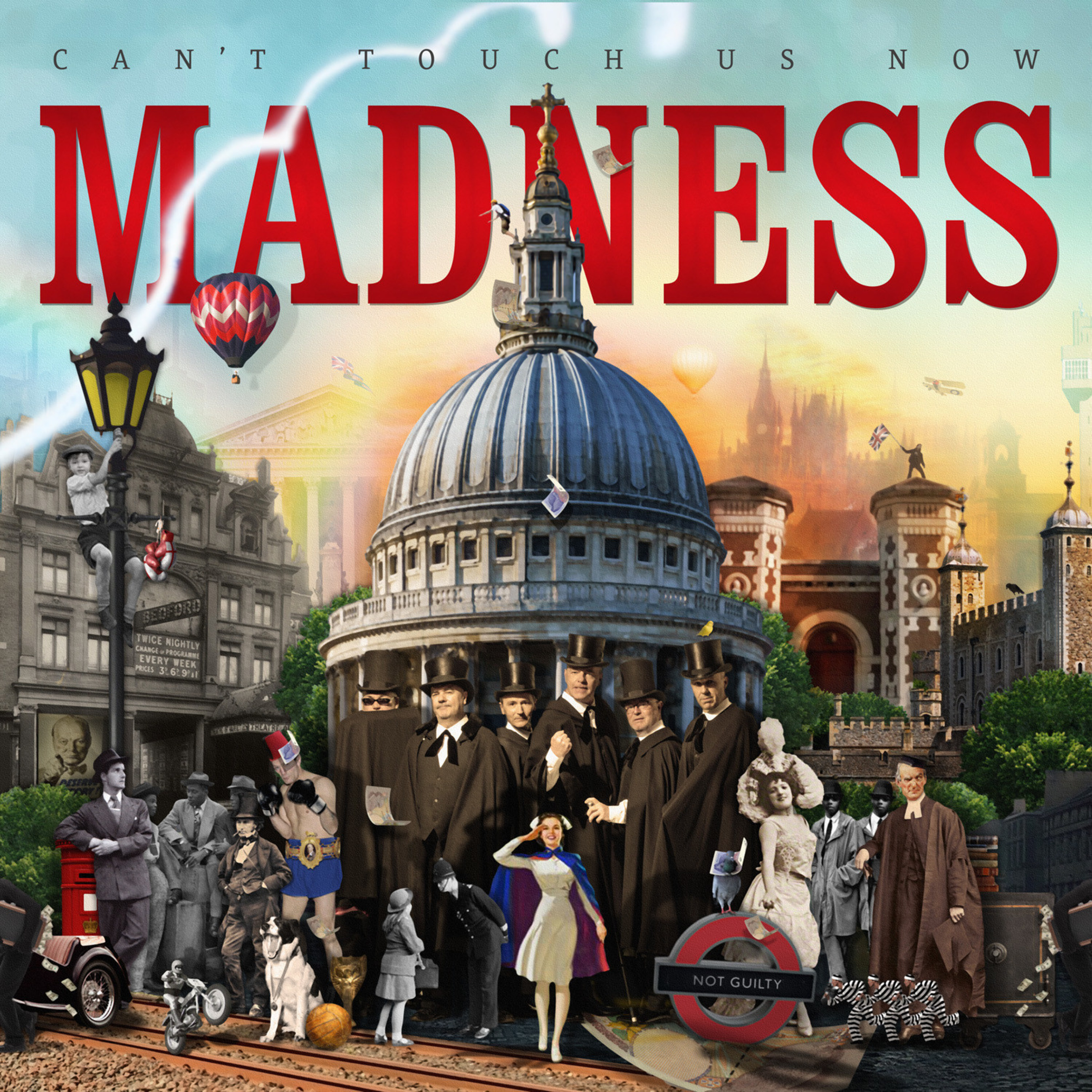 Madness Announce New Album 'Can't Touch Us Now' To Be Released October 28th On UMe