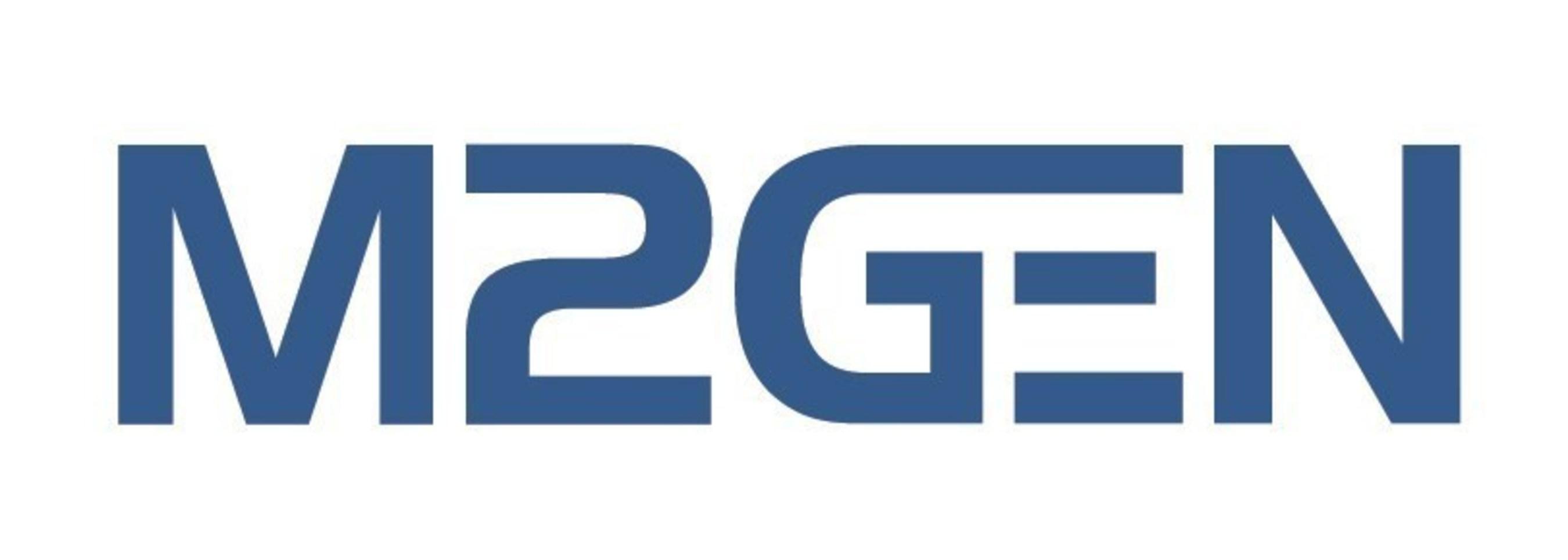 M2Gen logo
