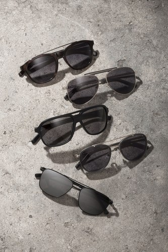 New collection of sunglasses by Jerome Boateng and Edel-Optics www.edel-optics.com (PRNewsFoto/Edeloptics GmbH)