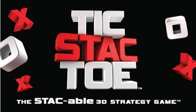 Accomplice Productions Launches Exciting New 3D Strategy Game TIC STAC TOE(TM) at American International Toy Fair in New York City.  (PRNewsFoto/Accomplice Productions)