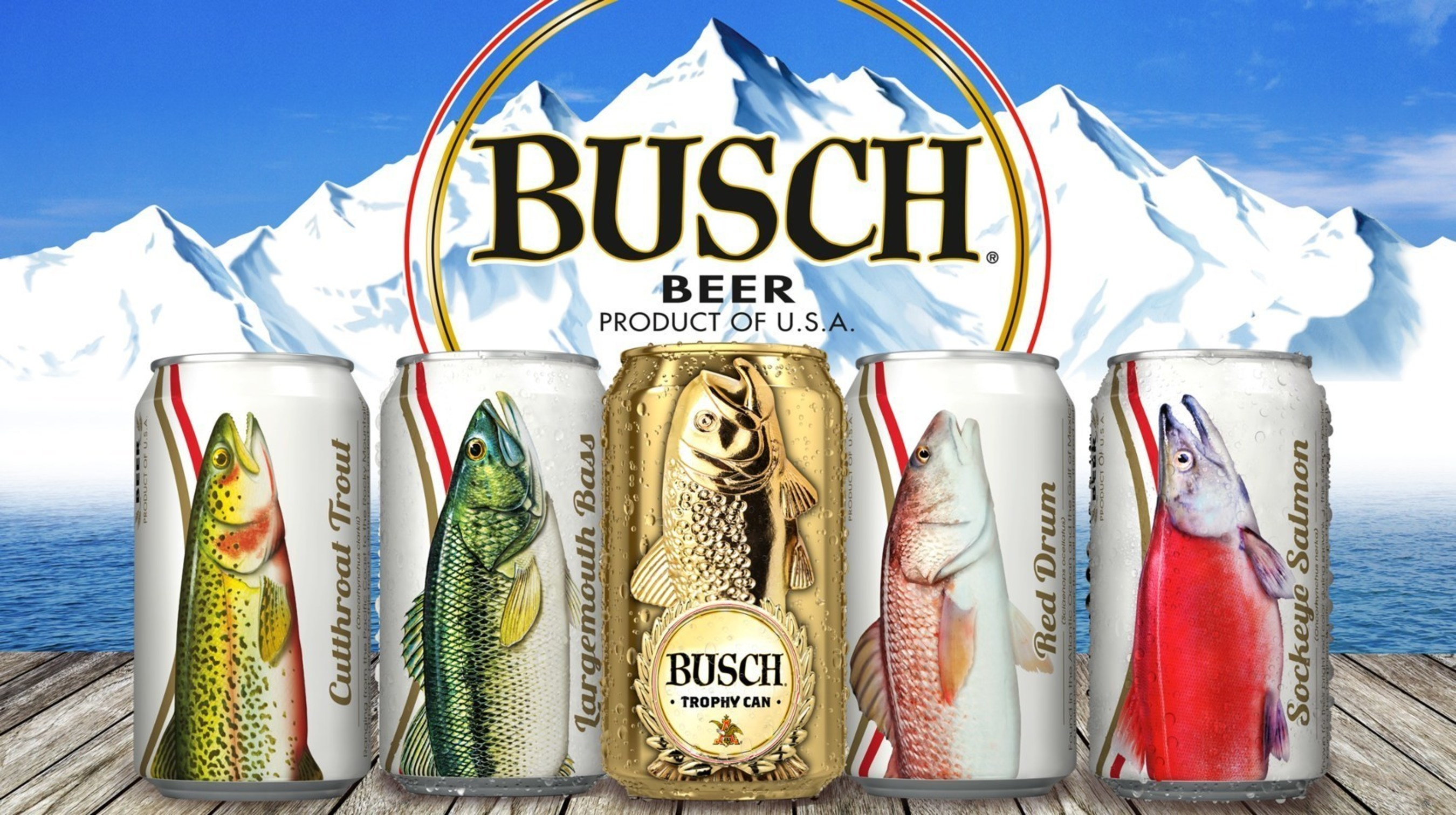 Busch beer's popular fishing promotion is back with a new twist, giving consumers the chance to win the ultimate fishing getaway with pro fisherman and seven time Angler of the Year, Kevin VanDam. Consumers who find one of the 100,000 gold trophy cans randomly seeded in packs of Busch and Busch Light can capture a photo of themselves with the can and submit it online via Busch.com.