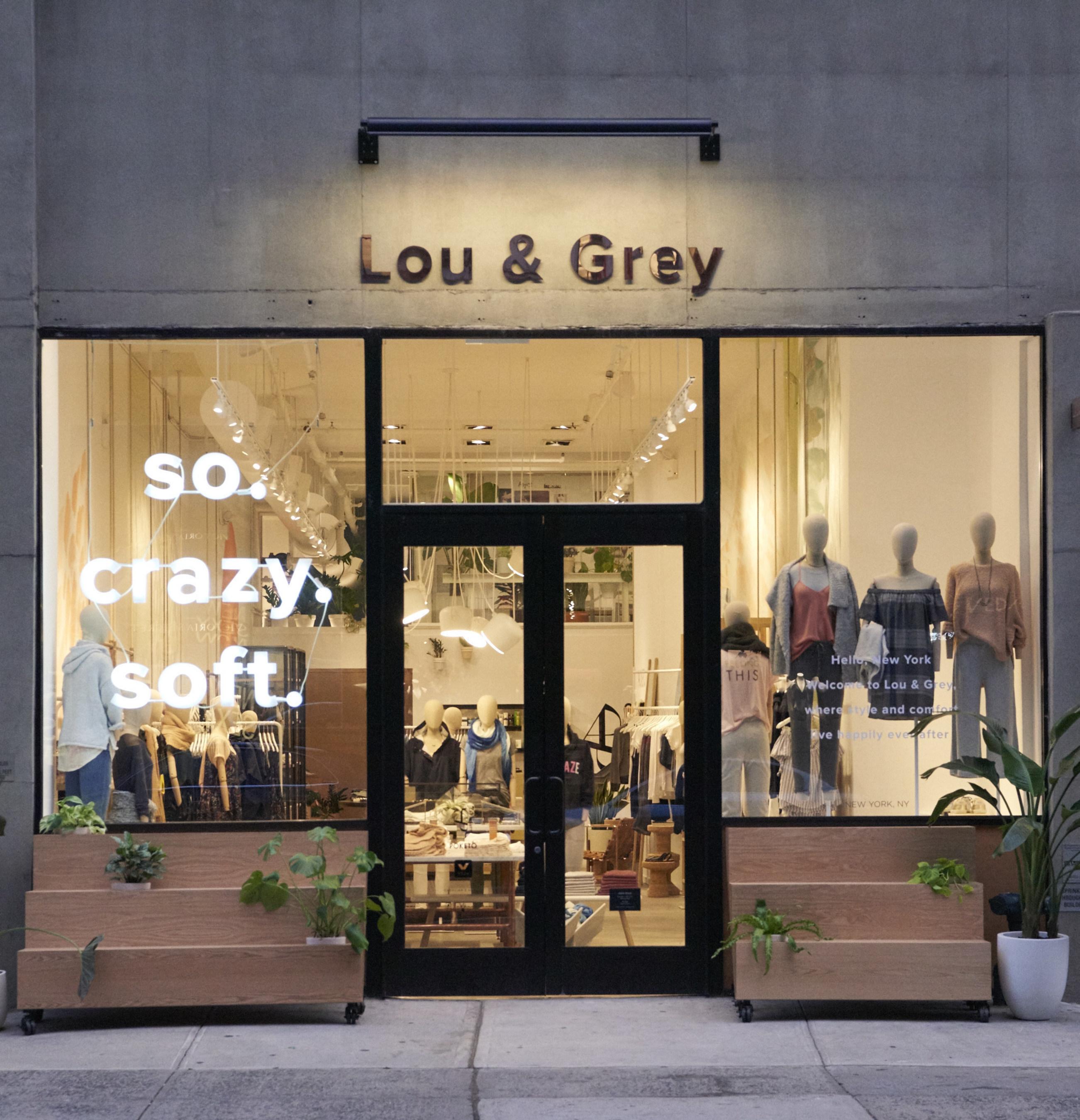 Lou & Grey Flatiron storefront