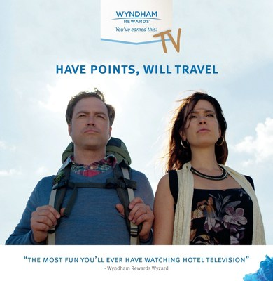 "Wyndham Rewards is changing the in-room content game with the launch of ""Have Points, Will Travel,"" the hospitality industry's first-ever, sitcom for hotel guests. Watch more here: bit.ly/1PkZExg"