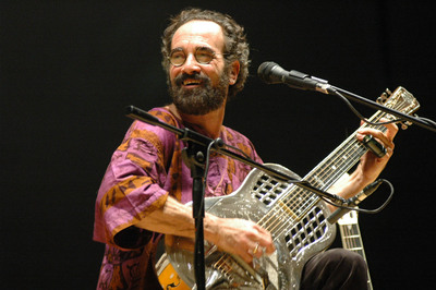 Bob Brozman - Internationally Beloved World Blues Musician.  (PRNewsFoto/Haley Robertson Brozman)