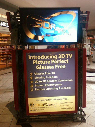 Look Out 3D Glasses, Here Comes 3DFusion's NO Glasses 3DTV