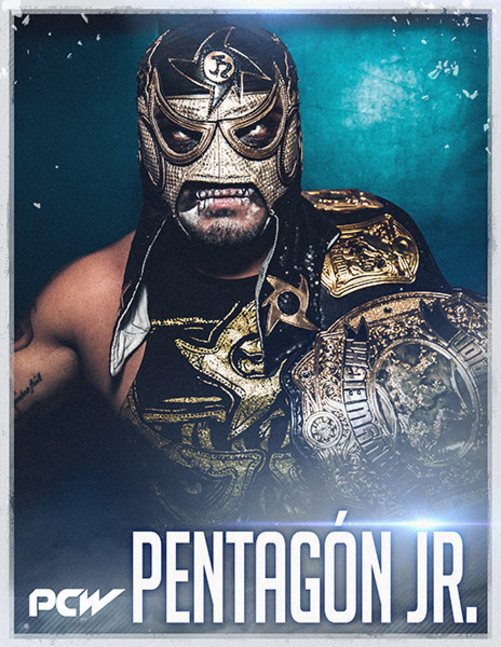 "Pacific Coast Wrestling Heavyweight Champion, Pentagon, Jr. will defend his title against wrestling legend ""RVD"" Rob Van Dam, November 12, 2016 in Torrance, CA"