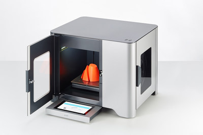 YSoft be3D eDee - First 3D printer with print management, accounting system and workflow. Ideal for Education market.