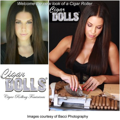 Welcome the new look of a Cigar Roller, The Cigar Dolls.