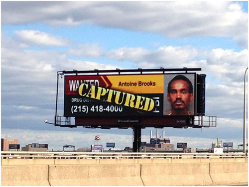 Clear Channel Outdoor's Digital Signs Aid FBI in Capture of Fugitive.  (PRNewsFoto/Clear Channel Outdoor)