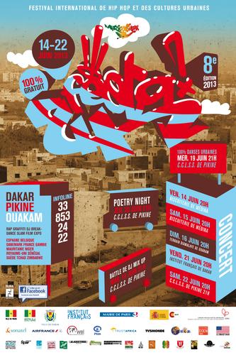 Raw Material Artists Return to Senegal's Festa2h International Hip Hop Festival