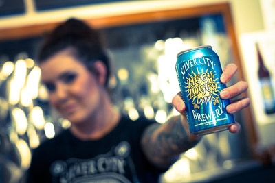 Silver City Brewery's Ziggy Zoggy Summer Lager available in Rexam 12 oz. Cans