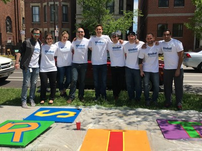 CEB volunteers at Casa Central for Global Impact Week in Chicago, IL.