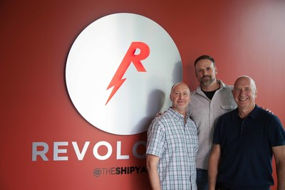Left to Right: Chief Creative Officer Mike Bednar, Chief Content Officer Mike Long, The Shipyard CEO Rick Milenthal
