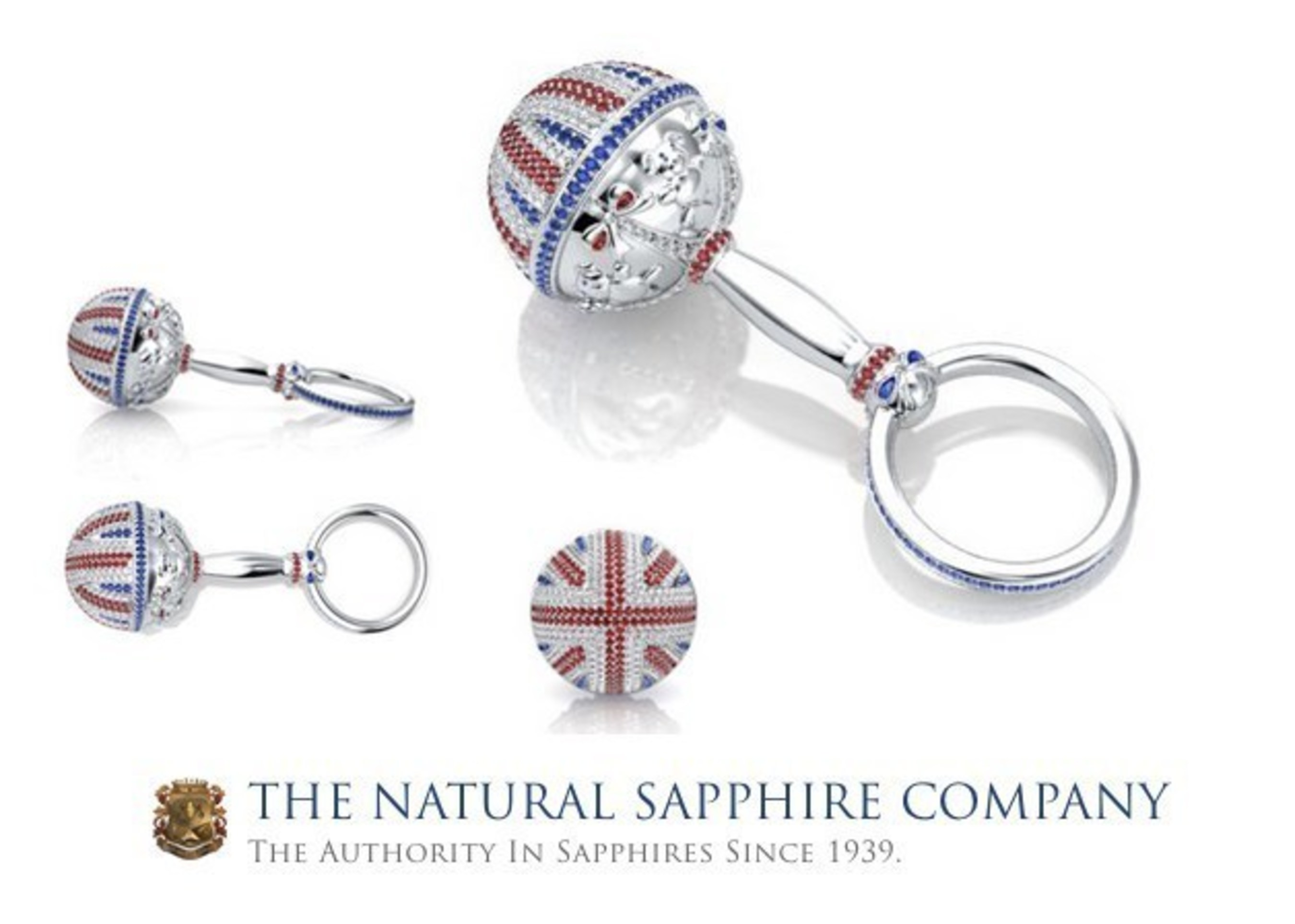 $45,000 Baby Rattle Presented To The New Princess Of England!