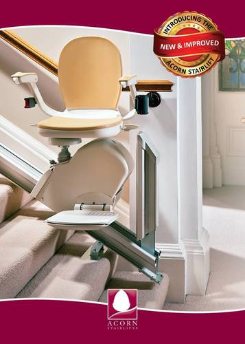 The New & Improved Acorn 120 Stairlift. (PRNewsFoto/Acorn Stairlifts, Inc.)