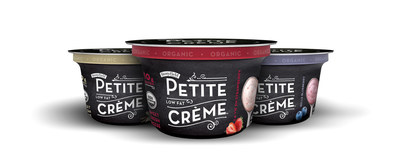 Stonyfield's new Petite Creme (PRNewsFoto/Stonyfield)