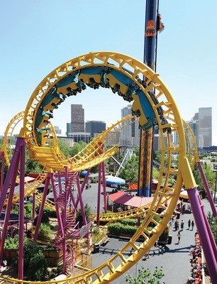 Elitch Gardens, Denver. Photo credit Elitch Gardens. (PRNewsFoto/VISIT DENVER, The Convention...)