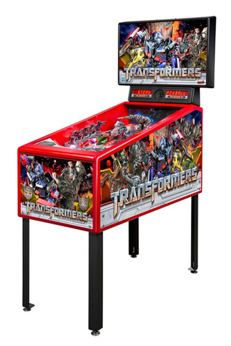 Stern Pinball Introduces the TRANSFORMERS(TM) Pin(TM) - Stylish, Affordable Pinball Entertainment for the Home.  (PRNewsFoto/Stern Pinball, Inc.)