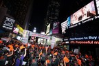 Cycle for Survival Takes over Times Square (PRNewsFoto/Cycle for Survival)