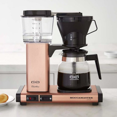 Technivorm Moccamaster KB Coffee Brewer with a new copper finish
