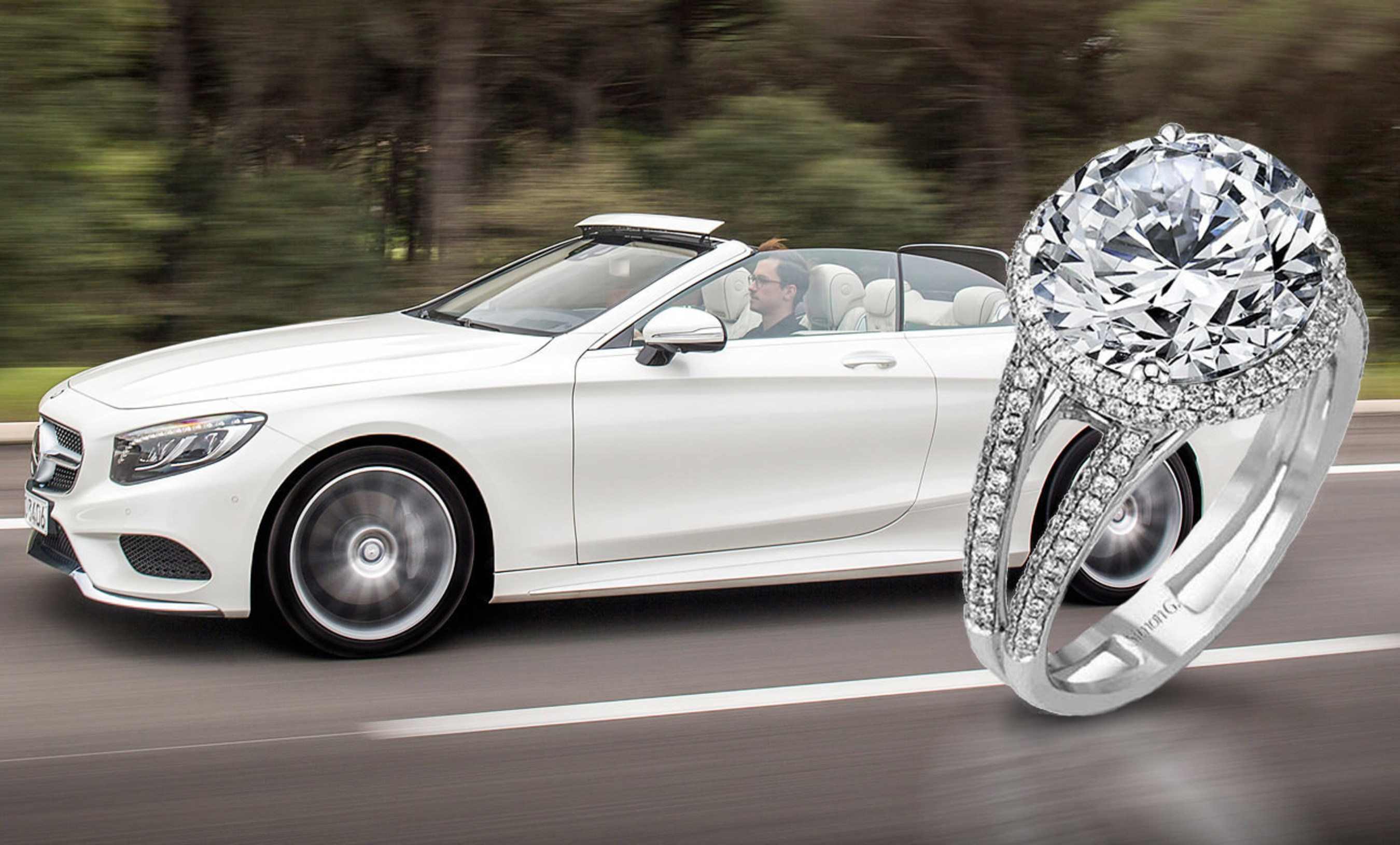 "Holy Toledo!  Ohio Jeweler Offers Forevermark(TM) Million Dollar Holiday Diamond. Includes Free Mercedes-Benz ""Gift With Purchase."""