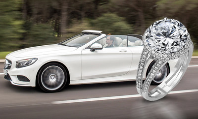 """Holy Toledo!  Ohio Jeweler Offers Forevermark(TM) Million Dollar Holiday Diamond. Includes Free Mercedes-Benz """"Gift With Purchase."""""""