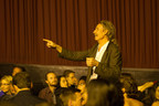 Occupy The Farm director and Veteran filmmaker Todd Darling at sold out Berkeley opening November 7, 2014.