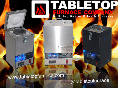 The TableTop Furnace Company, the best electric furnaces and kilns now on the market. (PRNewsFoto/Tabletop Furnace Co.)