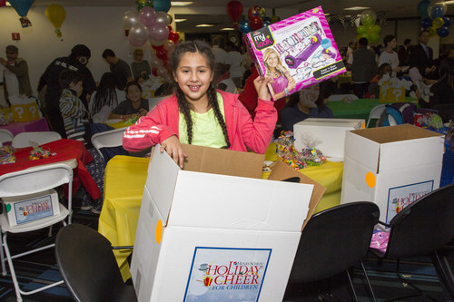 Henry Schein's 16th Annual Holiday Cheer for Children program brightens the holidays for more than 1,000 ...