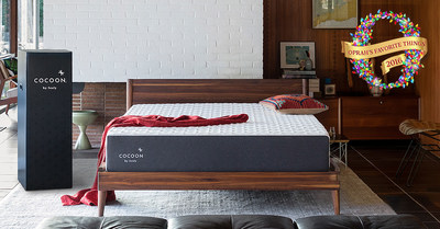 Cocoon by Sealy, the Sealy quality mattress that is shipped directly to consumers' doors, debuted in March and has now been named one of Oprah's Favorite Things for 2016.