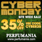 Take Advantage Of Perfumania's 35% Off Cyber Monday Sale.  (PRNewsFoto/myreviewsnow, llc)