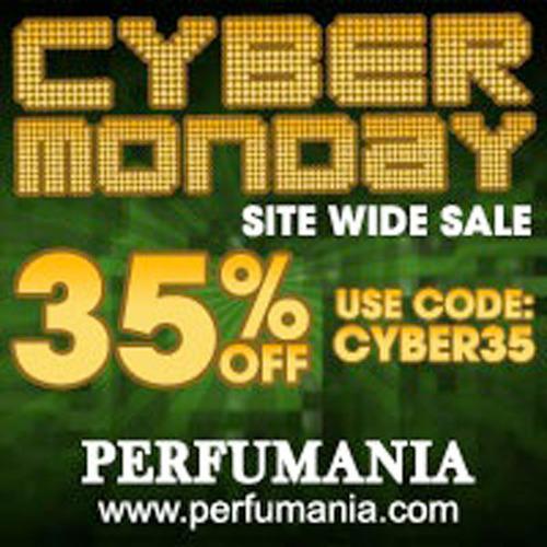 Take Advantage Of Perfumania's 35% Off Cyber Monday Sale.  (PRNewsFoto/myreviewsnow, llc)