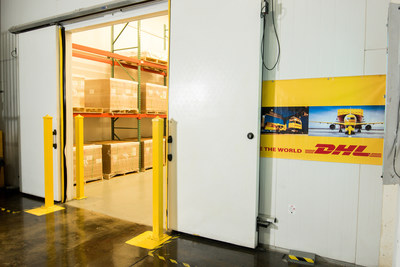 DHL Puerto Rico cold room