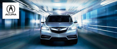 Get the 2015 Acura MDX later this month at West Side Acura in Edmonton AB. This is the perfect vehicle for families on the go who value quality. (PRNewsFoto/West Side Acura)