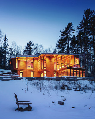 The Wedge House in Quebec is the 2016 Marvin Architects Challenge Best In Show project.