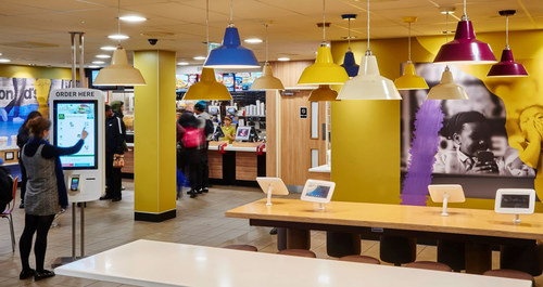SOTI Helps McDonald's to Deliver Experience of the Future (PRNewsFoto/SOTI)
