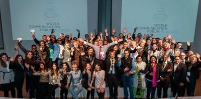 World Communication Forum Association (WCFA) 2016 (PRNewsFoto/WCFA)
