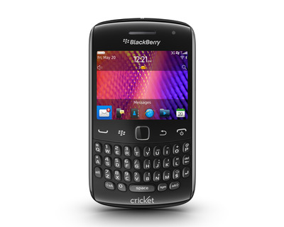 BlackBerry Curve 9350 now available at Cricket.  (PRNewsFoto/Cricket Communications, Inc.)