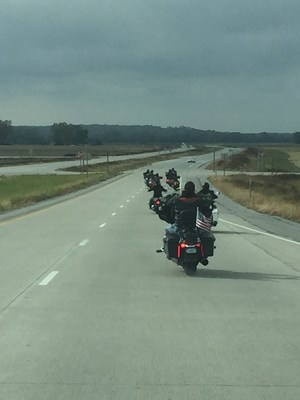 Warriors learn to ride and hit the open road during a recent Wounded Warrior Project event in Kansas City.