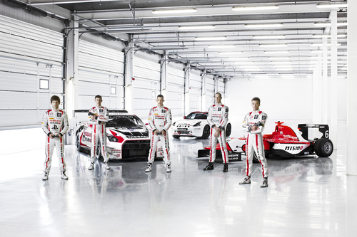Past winners of the GT Academy competition. (PRNewsFoto/Sony Computer Entertainment...)