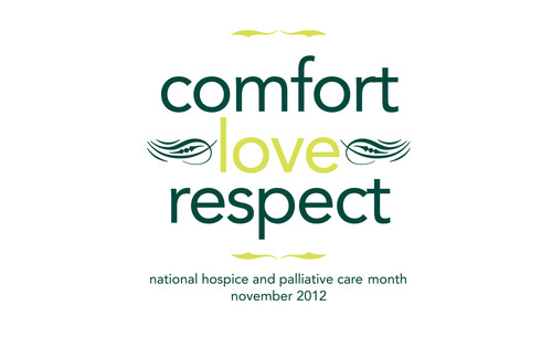 National Hospice and Palliative Care Month Logo.  (PRNewsFoto/National Hospice and Palliative Care Organization)