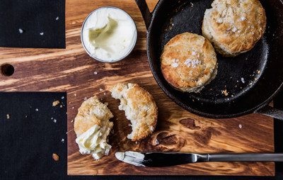 Stella San Jac's #16 biscuits with whipped honey butter.