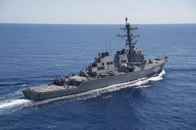 The SEWIP Block 2 System, developed by Lockheed Martin, has already been deployed on several ships, including the USS Carney. U.S. Navy photo.