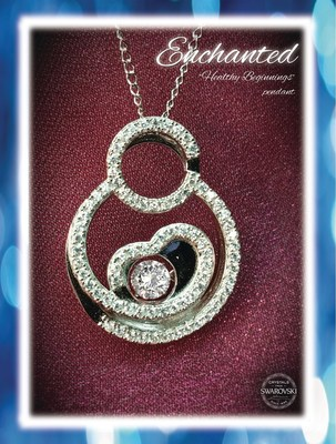 "Celebrate Mom with A&E Jewelers as they donate 20% of each ""Healthy Beginnings"" necklace to the March of Dimes."