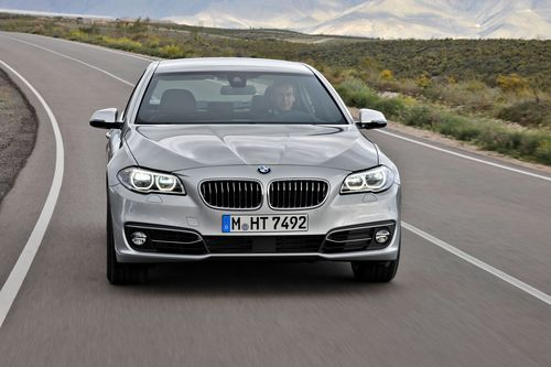 The top seller BMW 5 Series, market leader in its segment